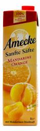 Amecke Sanfte Säfte Mandarine Orange 1 l