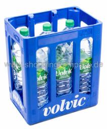 Volvic Naturelle Mineralwasser Kasten 6 x 1,5 l PET EW