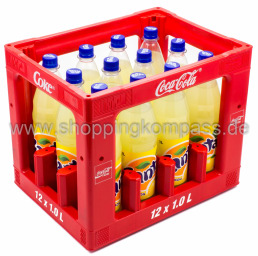 Fanta Lemon Kasten 12 x 1 l PET MW