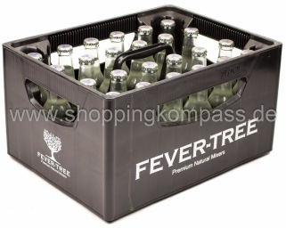 Fever Tree Ginger Beer Kasten 24 x 0,25 l Glas MW