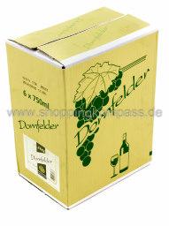 RHH Dornfelder Rotwein halbtrocken Karton 6 x 0,75 l