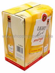 Light Live Mango Alkoholfrei Karton 6 x 0,75 l Glas
