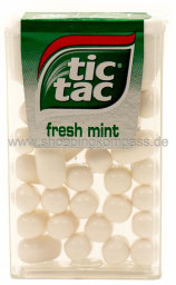 Foto tic tac Fresh mint 18 g