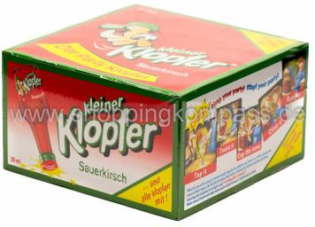 Kleiner Klopfer Sauerkirsch Karton 25 x 20 ml