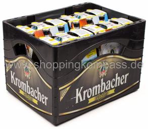 Krombacher Radler Kasten 4 x 6 x 0,33 l Glas MW