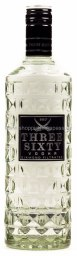 Foto Three Sixty Vodka 0,7 l Glas