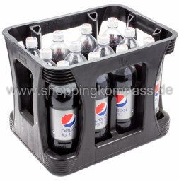 Foto Pepsi Cola Light Kasten 12 x 1 l PET Einweg