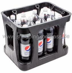 Pepsi Cola Light Kasten 12 x 1 l PET EW