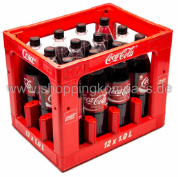 Coca Cola Cherry Kasten 12 x 1 l PET MW