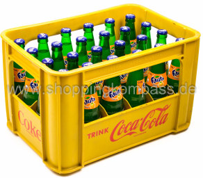 Fanta Orange Kasten 24 x 0,33 l Glas MW