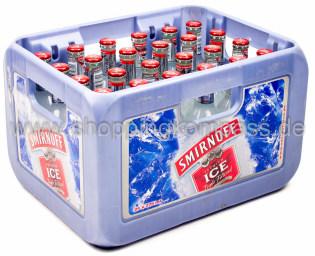 Smirnoff Ice Vodka Mixed Drink Kasten 24 x 0,275 l Glas MW