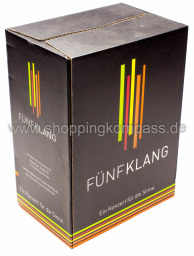 Fünfklang Trollinger halbtrocken Karton 6 x 0,75 l