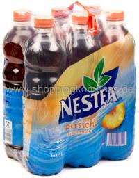 Nestea Eistee Pfirsich Geschmack 6 x 1,5 l PET EW