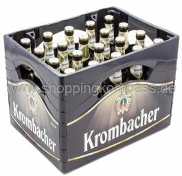 Krombacher Pils Kasten 20 x 0,5 l Glas MW