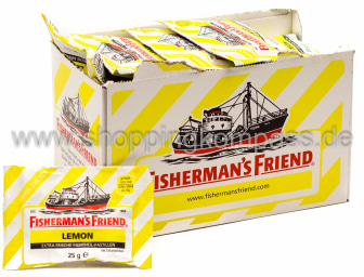 Foto Fisherman's Friend Frische Lemon Karton 24 x 25 g