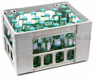Gerolsteiner Mineralwasser Medium Kasten 24 x 0,25 l Glas MW