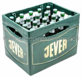 Jever Fun alkoholfrei Kasten 20 x 0,5 l Glas MW