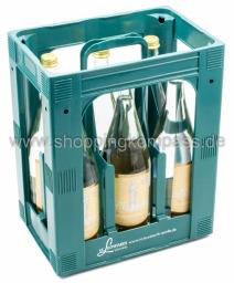 St. Leonhards Das Lebendige Mineralwasser Still Kasten 6 x 1 l Glas MW