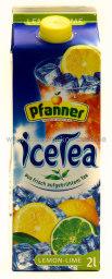 Pfanner Eistee Lemon-Lime 2 l Tetra-Pack