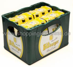 Bitburger Radler alkoholfrei Kasten 4 x 6 x 0,33 l Glas MW
