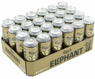 Carlsberg Elephant Bier extra strong Karton 24 x 0,5 l Dose EW