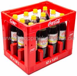 Coca Cola Light Plus Lemon C Kasten 12 x 1 l PET MW
