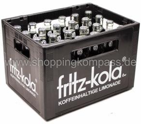 Fritz Kola Kasten 24 x 0,33 l Glas MW