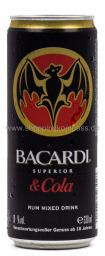 Bacardi Cola 0,33 l Dose EW