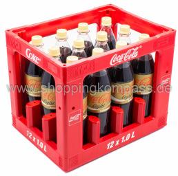 Coca Cola Vanille Kasten 12 x 1 l PET MW