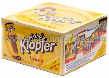 Foto Kleiner Klopfer Cream Sahne Whiskey Karton 25 x 20 ml
