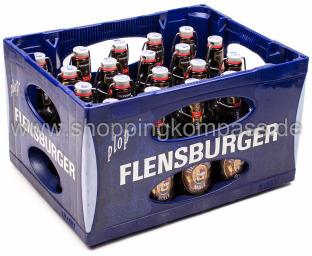 Flensburger Malz Bügel Kasten 20 x 0,33 l Glas MW