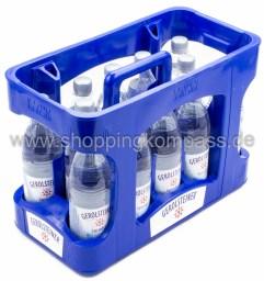 Gerolsteiner Mineralwasser Sprudel Kasten 12 x 0,5 l PET EW