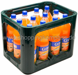 Foto Gerri Orange Guave Light Kasten 12 x 1 l PET Mehrweg