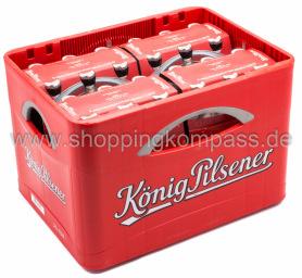 König Pilsener Kasten 4 x 6 x 0,33 l Glas MW