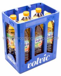 Volvic Eistee Pfirsich Kasten 6 x 1,5 l PET EW