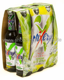 Foto Mixery Vodka Lemon 6 x 0,33 l Glas Mehrweg