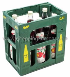 Van Nahmen Apfel Sauerkirsch Direktsaft Kasten 6 x 0,7 l Glas MW
