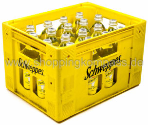Schweppes Indian Tonic Water Kasten 18 x 0,5 l Glas MW