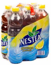 Nestea Eistee Zitrone Geschmack 6 x 1,5 l PET EW