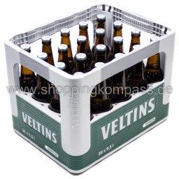 Veltins Pils alkoholfrei Kasten 20 x 0,5 l Glas MW
