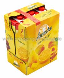 Amecke Sanfte Säfte Apfel klar filtriert Karton 6 x 1 l Tetrapack