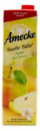 Amecke Sanfte Säfte Apfel klar filtriert 1 l Tetrapack
