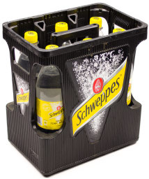 Schweppes Indian Tonic Water Kasten 6 x 1 l PET MW