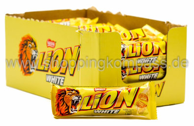 Lion White Karton 24 x 42 g