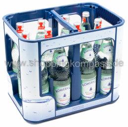 Römerwall Mineralwasser Medium Kasten 12 x 0,7 l Glas MW