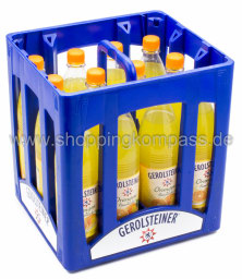 Gerolsteiner Limonade Orange Kasten 12 x 0,75 l PET MW