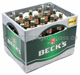 Becks Gold Kasten 20 x 0,5 l Glas MW