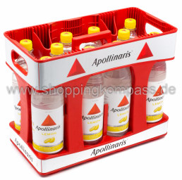 Foto Apollinaris Lemon Kasten 10 x 1 l PET Mehrweg