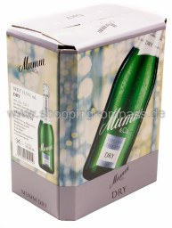 Mumm & Co Dry Sekt elegant trocken Karton 6 x 0,75 l Glas