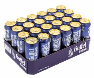 Gaffel Kölsch Karton 24 x 0,5 l Dose EW